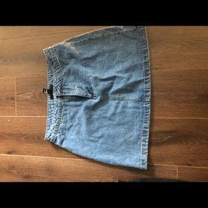 Dresses & Skirts - A style skirt denim